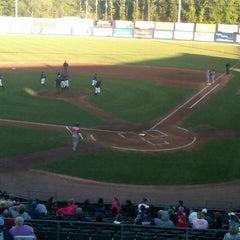 Photo taken at Dutchess Stadium by Anthony F. on 9/11/2012