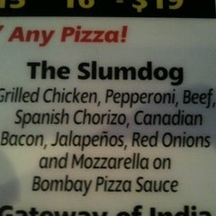 Photo taken at Bombay Pizza Co. by Wil S. on 6/15/2012