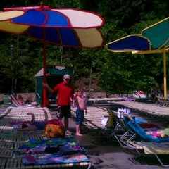 Photo taken at Dollywood's Splash Country by Christa D. on 7/15/2012