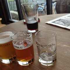 Photo taken at Burley Oak Brewing Company by kevin b. on 6/1/2012