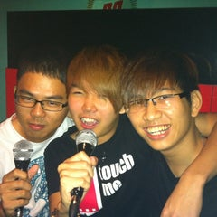 Photo taken at K Box Plus by Chin Hong L. on 5/14/2012
