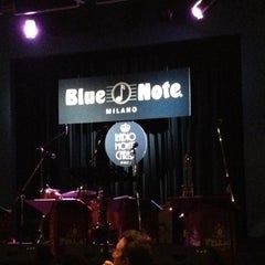 Photo taken at Blue Note Milano by Andre V. on 3/14/2012