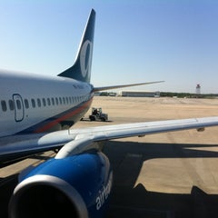 Photo taken at Concourse A by Laura M. on 4/24/2012