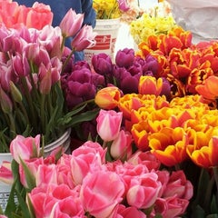 Photo taken at West Seattle Farmers Market by Christine W. on 4/22/2012