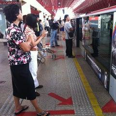 Photo taken at Jurong East MRT Interchange (NS1/EW24) by Nutty K. on 4/20/2012