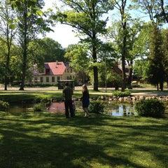 Photo taken at Arkādijas parks by Juris K. on 5/23/2012