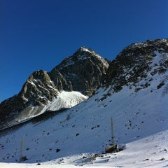 Photo taken at Julierpass by Simon M. on 3/1/2012