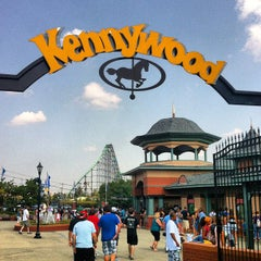 Photo taken at Kennywood Park by Bobby C. on 8/25/2012
