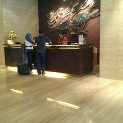 Photo taken at Grand Swiss-Belhotel by Kimie G. on 3/18/2012