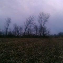 Photo taken at Iowa / Nebraska State Line by Robert P. on 1/7/2012