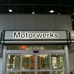 Photo taken at Motorwerks BMW by Donovan T. on 4/28/2012