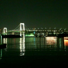 Photo taken at お台場海浜公園 (Odaiba Marine Park) by Takashi K. on 11/2/2011