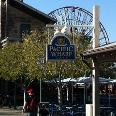 Photo taken at Pacific Wharf Café by Loyal P. on 12/2/2011