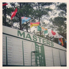 Photo taken at Augusta National Golf Club by Christopher E. on 4/6/2012