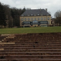 Photo taken at Domaine de Volkrange by Bruno D. on 3/11/2012