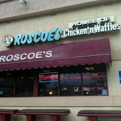Photo taken at Roscoe's House of Chicken and Waffles by Steve S. on 1/21/2012