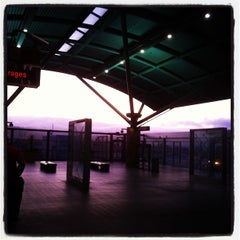 Photo taken at SFO AirTrain by Chris B. on 10/26/2011