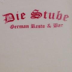 Photo taken at Die Stube German Bar & Resto by Ferdynand P. on 3/17/2012