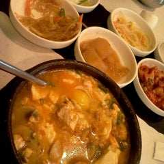 Photo taken at So Gong Dong Tofu House by Long on 5/24/2012