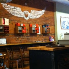 Photo taken at Manic Coffee by Cameron N. on 12/31/2010