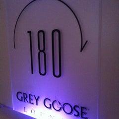 Photo taken at One80 Grey Goose Lounge by Edison C. on 4/29/2012