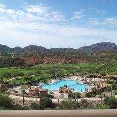 Photo taken at JW Marriott Tucson Starr Pass Resort & Spa by Danny Z. on 8/18/2012