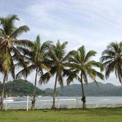 Photo taken at Isla Grande Colon by christina l. on 6/10/2012