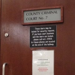 Photo taken at Tim Curry Criminal Justice Center by Craig V. on 11/18/2011