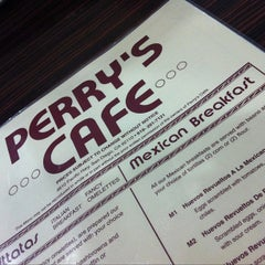 Photo taken at Perry's Cafe by Jasin D. on 10/23/2011