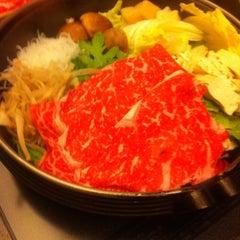 Photo taken at しゃぶ禅 by Shuhei N. on 4/27/2012
