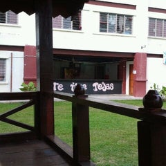 Photo taken at Kolej Tun Teja by Aisyah M. on 1/29/2012