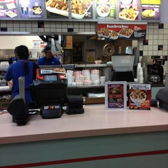Photo taken at Yoshinoya by David G. on 2/18/2012