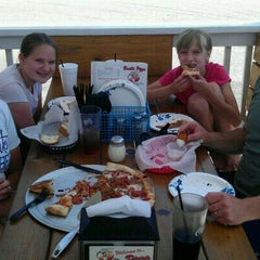 Photo taken at Basil's Pizza by Mandy S. on 6/9/2012