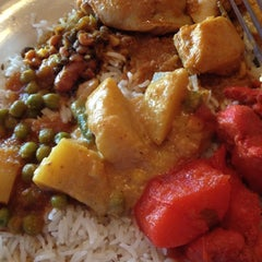 Photo taken at Taste of India by Amy L. on 5/28/2012