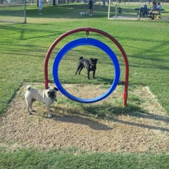 Photo taken at Fort Woof Dog Park by Ramon F. on 9/3/2011