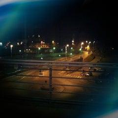 Photo taken at Lounge Binario 7 by Massimo V. on 1/25/2012