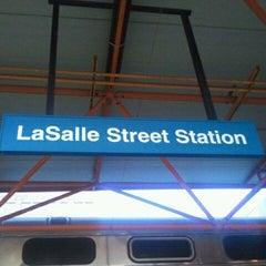Photo taken at Metra - LaSalle Street by Quenton H. on 9/15/2011