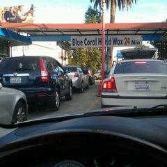 Photo taken at Olympic Car Wash by Karl J. on 1/8/2012
