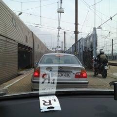 Photo taken at Eurotunnel Victor Hugo Terminal by Richard H. on 5/21/2012
