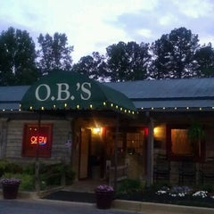Photo taken at O.B.'s BBQ by Chris B. on 5/1/2012