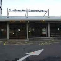 Photo taken at Southampton Central Railway Station (SOU) by Andrew E. on 5/3/2011