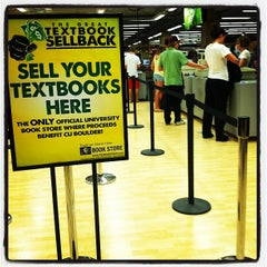Photo taken at CU Book Store by CU Book Store on 5/9/2012
