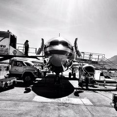 Photo taken at Aeropuerto Cabo San Lucas (MMSL) by Pete P. on 4/27/2012