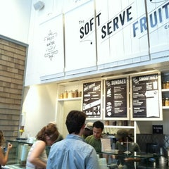 Photo taken at Chloe's Soft Serve Fruit Co. by Evan F. on 7/29/2012