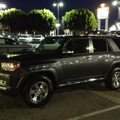Photo taken at Penske Toyota of West Covina by Remil M. on 2/17/2012