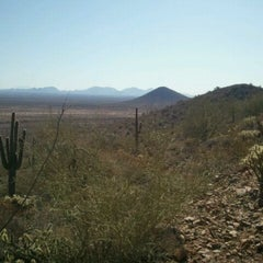 Photo taken at Sonoran Preserve - Sonoran Loop Trail by Cassandra J. on 3/12/2012