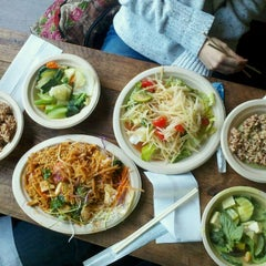 Photo taken at Thai Vegan by Darren V. on 1/18/2012
