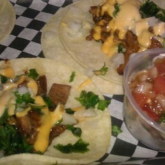 Photo taken at LA Burger by Sarah O. on 7/17/2011