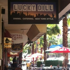 Photo taken at Lucky Dill Deli by Blake W. on 5/18/2012