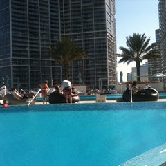 Photo taken at Epic Rooftop Pool by Siobhan Q. on 12/31/2010